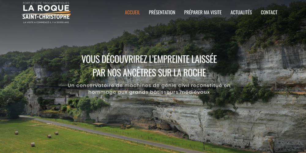 Réouverture de la Roque-St-Christophe
